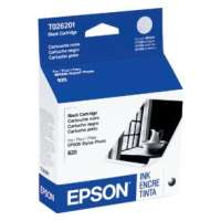 Genuine OEM Original Epson T026201 printer ink cartridge - black