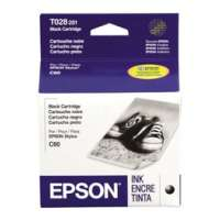 Genuine OEM Original Epson T028201 printer ink cartridge - black