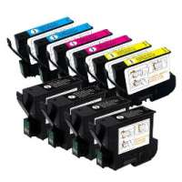 Cartridge America Remanufactured value pack of ink cartridges for Epson T032 / T042 - 10 pack