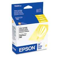 Genuine OEM Original Epson T042420 printer ink cartridge - yellow