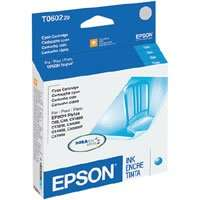 Epson 60, T060220 OEM ink cartridge, cyan