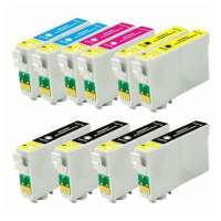 Remanufactured Epson 60 ink cartridges, 10 pack