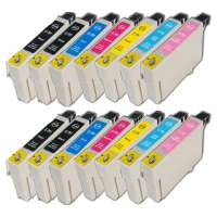 Remanufactured Epson 79 ink cartridges, 14 pack