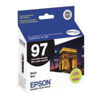 Epson 97, T097120 OEM ink cartridge, extra high yield, black