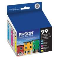 Epson 99 OEM ink cartridges, 5 pack