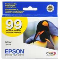 Epson 99, T099420 OEM ink cartridge, yellow