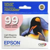 Epson 99, T099620 OEM ink cartridge, light magenta