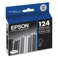 Epson 124, T124120 OEM ink cartridge, black