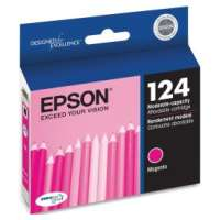 Epson 124, T124320 OEM ink cartridge, magenta
