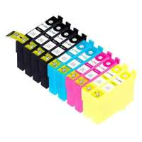 Remanufactured Epson 125 ink cartridges, 10 pack