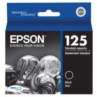 Epson 125, T125120 OEM ink cartridge, black