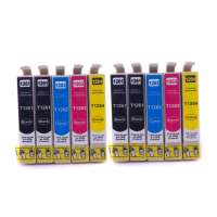 Remanufactured Epson 126 ink cartridges, high yield, 10 pack