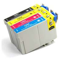 Remanufactured Epson 126 ink cartridges, high yield, 4 pack