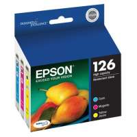 Epson 126 OEM ink cartridges, high yield, 3 pack