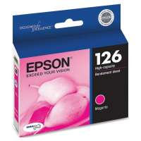 Epson 126, T126320 OEM ink cartridge, high yield, magenta