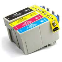 Remanufactured Epson 127 ink cartridges, extra high yield, 4 pack
