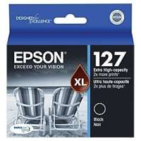 Epson 127, T127120 OEM ink cartridge, extra high yield, black