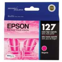 Epson 127, T127320 OEM ink cartridge, extra high yield, magenta