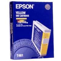 Epson T461011 OEM ink cartridge, yellow
