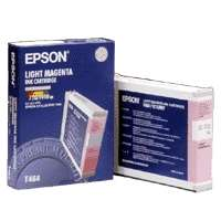 Epson T464011 OEM ink cartridge, light magenta