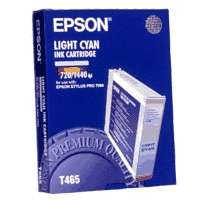 Epson T465011 OEM ink cartridge, light cyan