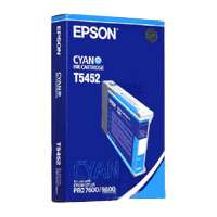 Epson T545200 OEM ink cartridge, cyan