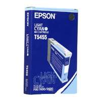 Epson T545500 OEM ink cartridge, light cyan