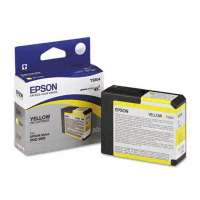 Epson T580400 OEM ink cartridge, yellow
