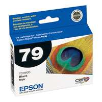 Epson 79, T079120 OEM ink cartridge, high yield, black