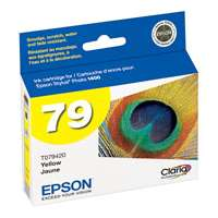 Epson 79, T079420 OEM ink cartridge, high yield, yellow