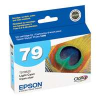 Epson 79, T079520 OEM ink cartridge, high yield, light cyan