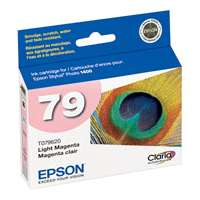 Epson 79, T079620 OEM ink cartridge, high yield, light magenta