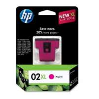 HP 02XL, C8731WN OEM ink cartridge, high yield, magenta