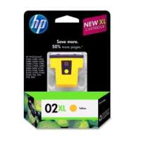 HP 02XL, C8732WN OEM ink cartridge, high yield, yellow
