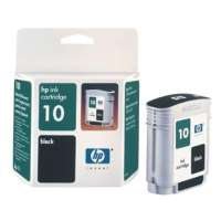 HP 10, C4844A OEM ink cartridge, black
