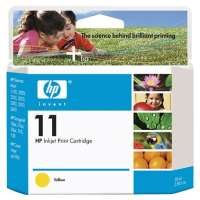 HP 11, C4838A OEM ink cartridge, yellow
