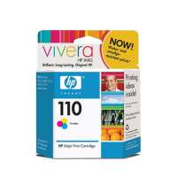 HP 110, CB304AN OEM ink cartridge, tri-color