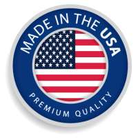 Premium replacement for HP 124A, Q6000A toner cartridge, made in USA, 3200 pages, black