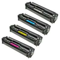 Cartridge America Compatible HP 125A toner cartridges - 4-pack
