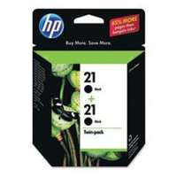 HP 21, C9508FN OEM ink cartridges, black, 2 pack
