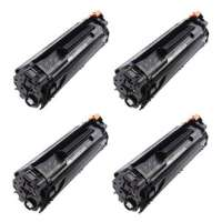 Compatible HP 35A, CB435A toner cartridges, 4 pack