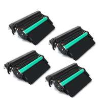 Compatible HP Q5942X (42X) toner cartridges - JUMBO (extra high) capacity - 4-pack