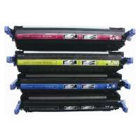 Remanufactured HP 501A, 502A, Q6470A, Q6471A, Q6472A, Q6473A toner cartridges, 4 pack