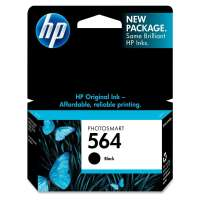HP 564, CB316WN OEM ink cartridge, black
