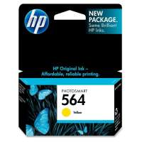 HP 564, CB320WN OEM ink cartridge, yellow