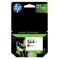 HP 564XL, CB324WN OEM ink cartridge, high yield, magenta