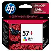 HP 57+, CB278AN OEM ink cartridge, high yield, tri-color