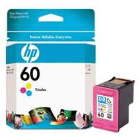 HP 60, CC643WN OEM ink cartridge, tri-color