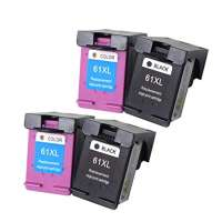 Remanufactured inkjet cartridges Multipack for HP 61XL - 4 pack