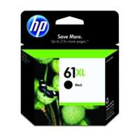HP 61XL, CH563WN OEM ink cartridge, high yield, black